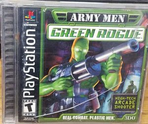 Army Men Green Rogue Playstation PS1 for Sale in Fresno, CA