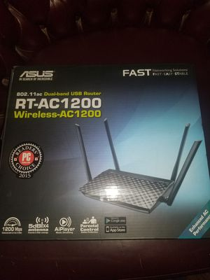 Asus RT-Ac1200 802.11ac Dual band USB router for Sale in Chatsworth, CA