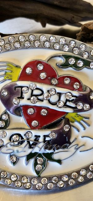 Retired Ed Hardy belt buckle for Sale in Las Vegas, NV
