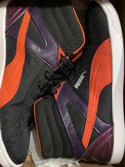 Puma Wm's Future Glyde Black Orange 7.5 for Sale in Raleigh,  NC