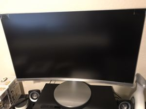 "Samsung Advanced Curved Monitor 27"" for Sale in Grand Prairie, TX"