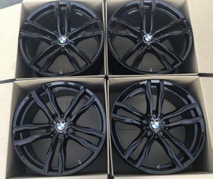 "21"" BMW X5 M X6 M 612M Sport black wheels / rims for Sale in Huntington Beach, CA"