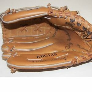 "Vintage RICKEY HENDERSON Rawlings Model RBG135 Youth 10.5"" LH Baseball Glove for Sale in San Diego, CA"