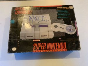 (Snes) - Super Nintendo Entertainment System for Sale in Kent, WA