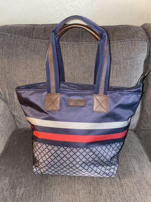 Gucci Unisex Blue Nylon Diamante Travel Tote Handbag {contact info removed} for Sale in Scottsdale, AZ