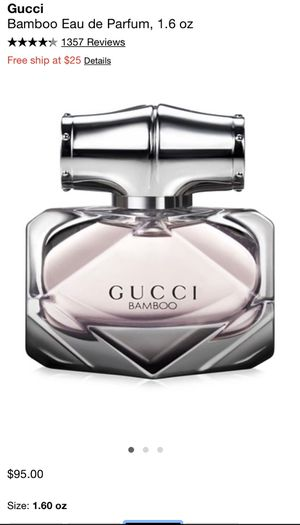 Gucci bamboo perfume 1.60oz Brand new for Sale in Perris, CA