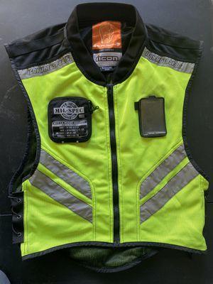 Motorcycle Vest Icon Mil-Spec Mesh Vest for Sale in Las Vegas, NV