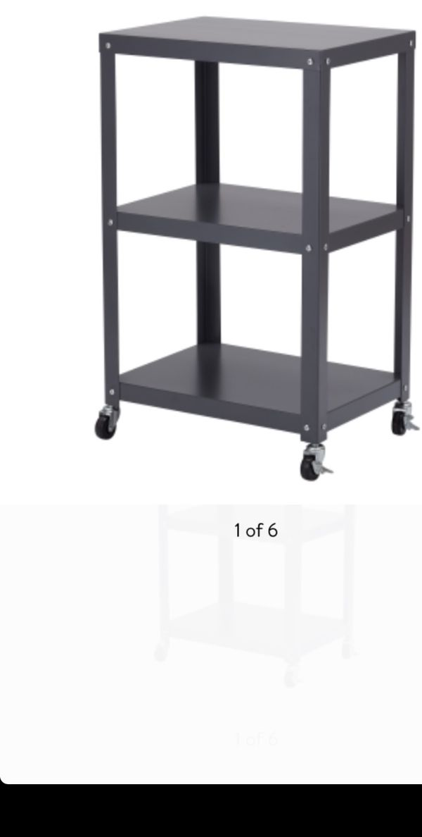 Multi Purpose Metal Cart For Home Garage Organization