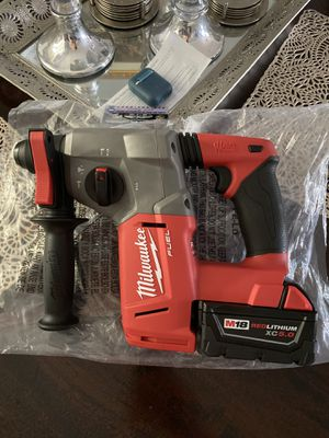 Milwaukee M18 FUEL 18-Volt Lithium-Ion Brushless Cordless 1 in. SDS-Plus Rotary Hammer for Sale in Whittier, CA
