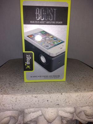 iFrogz Boost near-field amplifying speaker for Sale in Magna, UT