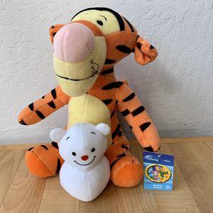 "SEGA Disney's Seasons Of Pooh Winter Collection Winnie The Pooh's 12"" Tigger Plush Stuffed Animal Toy for Sale in Elizabethtown, PA"