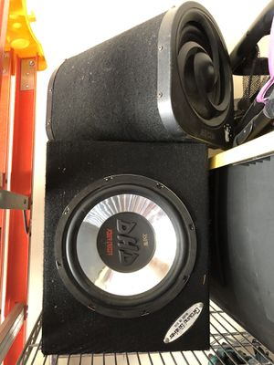350 Wats subwoofer and bazuca take all $40 for Sale in Spring, TX