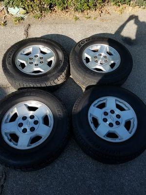 Chevy gmc Silverado Sierra wheels for Sale in South El Monte, CA