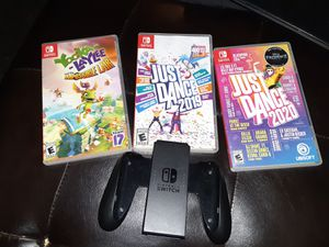 Nintendo switch just dance lets go pikachu and yuka laylee for Sale in San Bernardino, CA