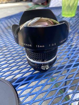 Nikon 15 F3.5 Fish Eye lens for Sale in El Monte, CA