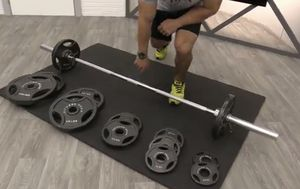 Olympic Barbell Set 300lbs Brand New for Sale in Laveen Village, AZ