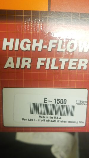 K&N filter for Sale in Glendale, AZ