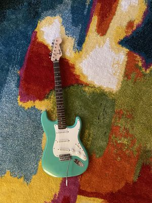 Squier sea foam green guitar for Sale in Bakersfield, CA