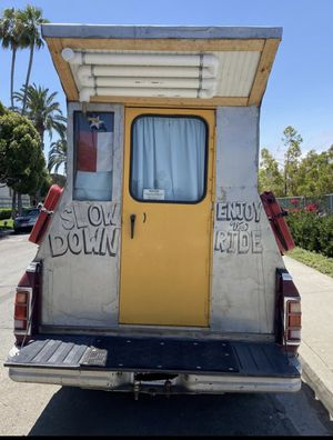 Truck camper for sale 8ft for Sale in San Diego, CA