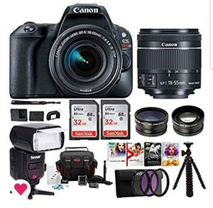 Canon EOS Rebel SL2 Digital Camera Bundle for Sale in Marietta, GA
