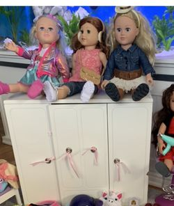 American Girl Doll Closet for Sale in Middletown,  RI