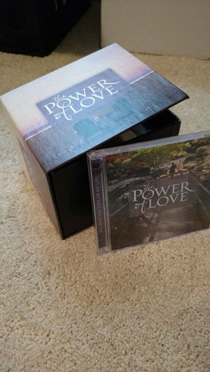 The power of love 9 cd set for Sale in Appomattox, VA