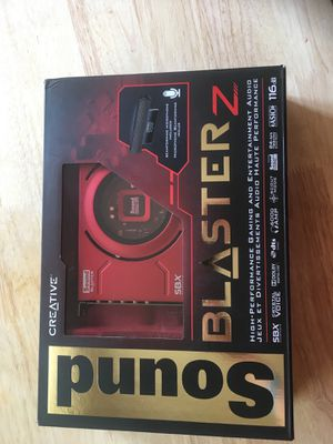 Creative Sound Blaster Z for Sale in Philadelphia, PA