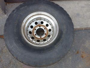 15x8 steel rim and 33 inch tire. 6 lug, great spare. Chevy Toyota More for Sale in Montebello, CA