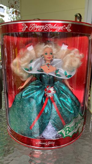 Special Edition Happy Holidays Barbie 1995 for Sale in Gulfport, FL