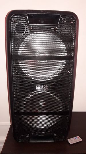 EDISON BLUETOOTH SPEAKER for Sale in The Bronx, NY
