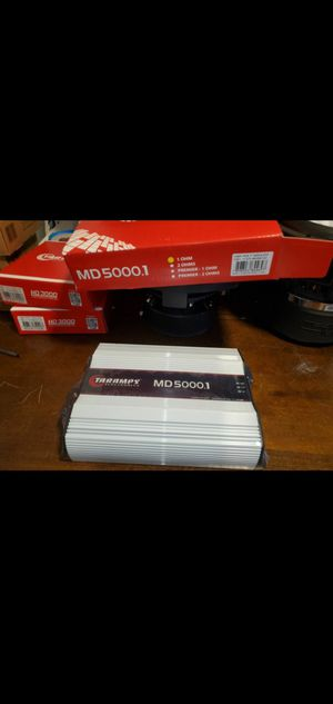 TARAMP MD5000 1 OHM 5000WATTS RMS PERFECT FOR SUBWOOFERS OR CHUCHERO BOXES AND MORE for Sale in The Bronx, NY