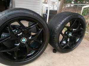 Bmw 21 wheels and tires x5 x6 for Sale in The Bronx, NY