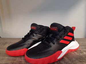 Adidas Own The Game Kids Basketball Shoes size 11KIDS for Sale in Kernersville, NC