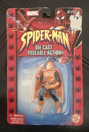Vintage 1994 Marvel Spiderman Die Cast Posable Hobgoblin  Action Figure for Sale in St. Louis, MO