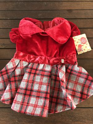 Doggie Xmas dress and harness for Sale in Lakewood, CA