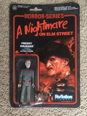 "ReAction 3 3/4"" Freddy Krueger Figure for Sale in Redford Charter Township, MI"