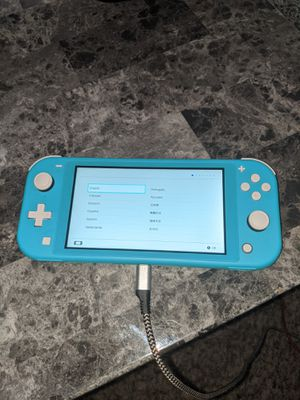 Nintendo switch comes with a 256 mc for Sale in Midland, MI