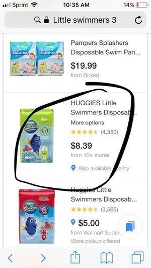 Huggies Little Swimmers Swim Diapers for Sale in Denton, TX