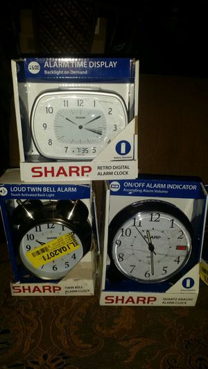 Sharp alarms brand new never used.. asking $ 8 each for Sale in Phoenix, AZ
