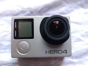 GoPro Hero 4 Silver camera + accessories for Sale in Orange, CA