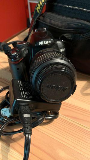 Nikon d5000 DSLR camera for Sale in Alexandria, VA