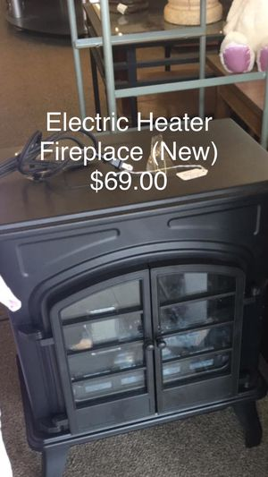 Electric Heater Fireplace (New) for Sale in Fort Leonard Wood, MO
