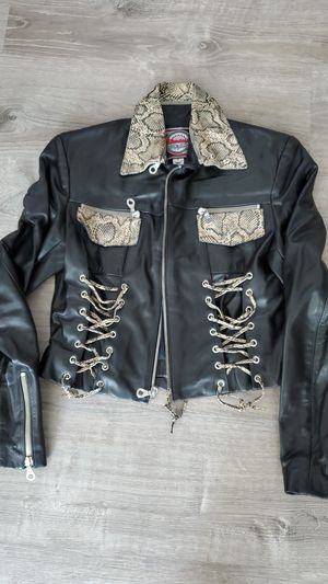 Leather Jacket like new size small for Sale in Brentwood, CA
