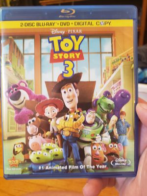 Toy Story 3 Bluray for Sale in Minneapolis, MN