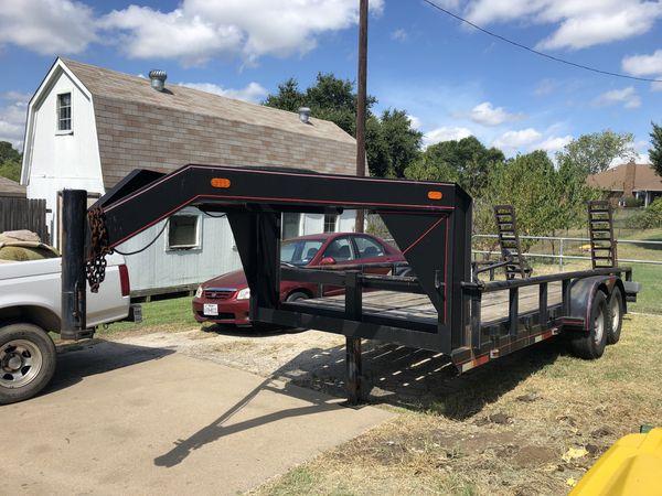 18 ft Gooseneck trailer