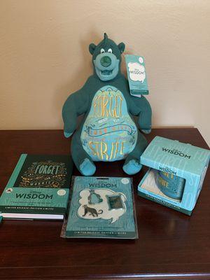 Disney Wisdom Baloo Plush, Journal, Mug And Pins Set for Sale in UPPR Saint CLAIR, PA
