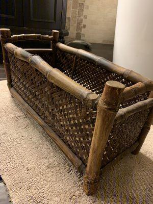 Wooden Storage Basket for Sale in McKinney, TX