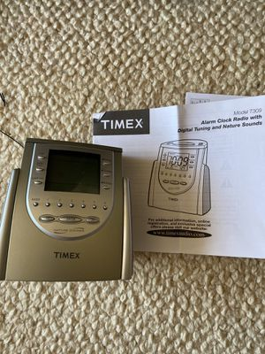 Timex alarm clock with radio and nature sounds for Sale in San Diego, CA