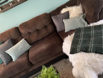 Brown 3 Piece Sectional for Sale in Vancouver,  WA