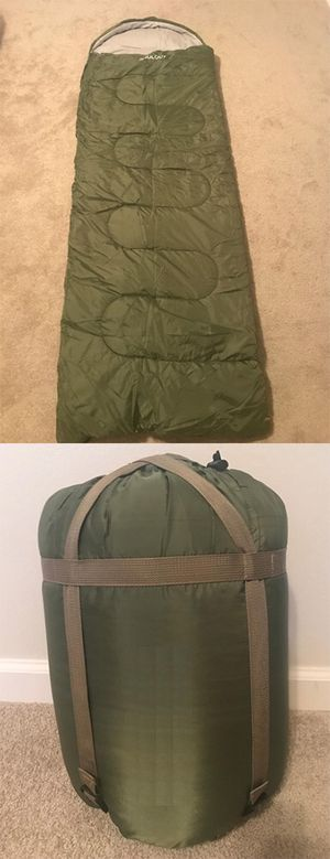 New $15 Camping Sleeping Bag Waterproof Indoor & Outdoor Hiking Lightweight w/ Portable Bag for Sale in Montebello, CA